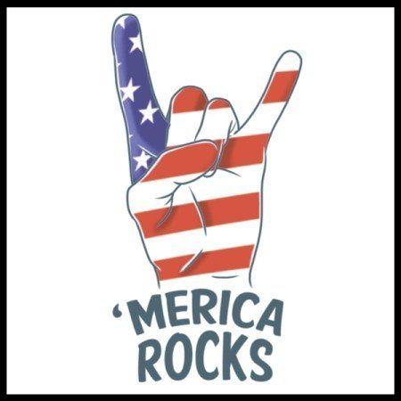 Merica Rocks Tattoo