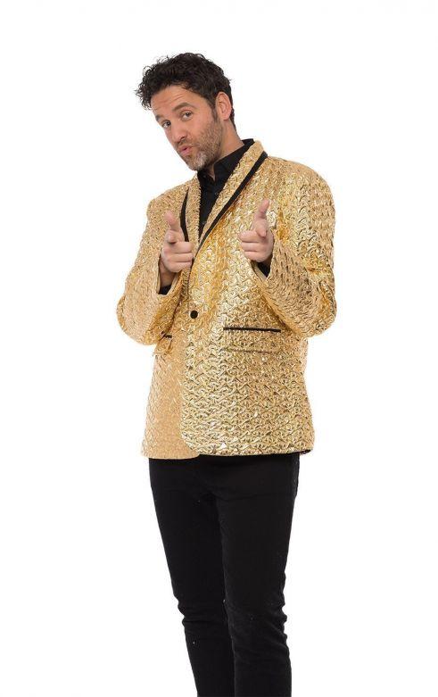 Men Jacket Gold
