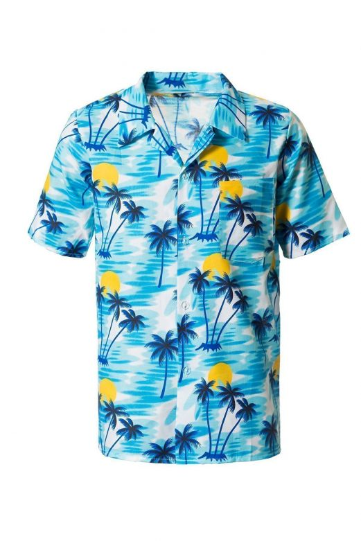 Hawai shirt Blue