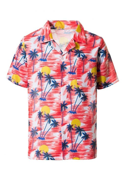 Hawai shirt Red