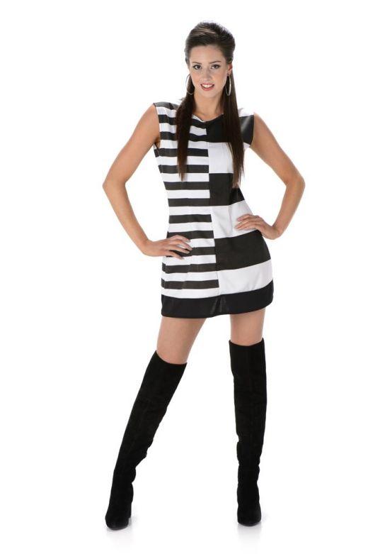 Monochrome Mod Girl