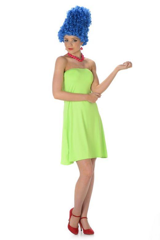 Blue Beehive Girl