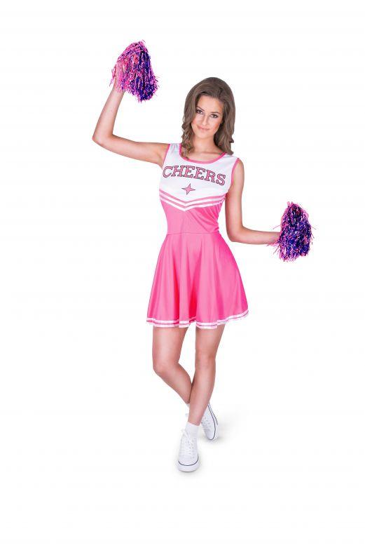 Pink Cheer Leader