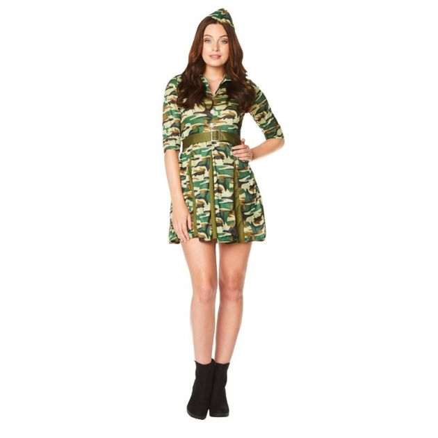 Pitches Soldier Dress