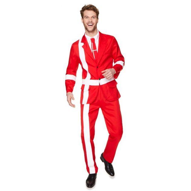 Danish Flag Suit