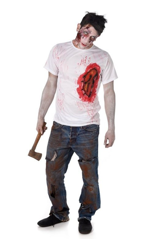 Burnt Torso Body Part Costume