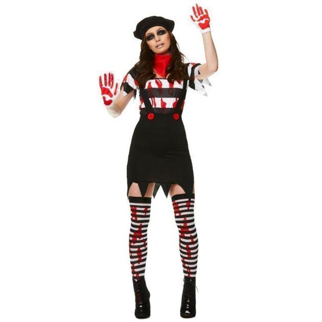 Zombie Mime Girl