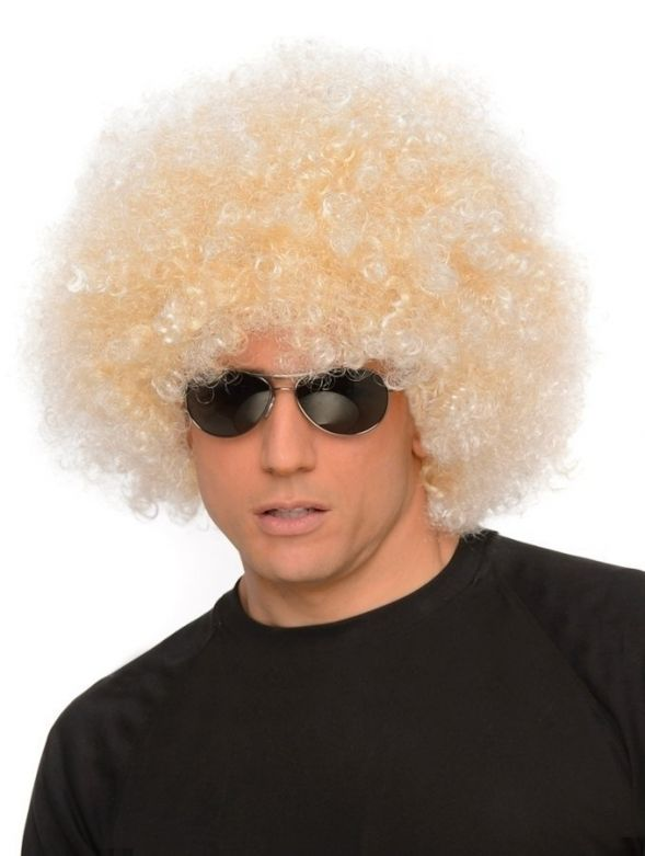 Jumbo Blonde Afro Wig