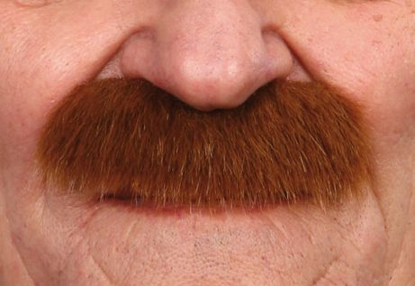 Mustache Mustafa Light Brown