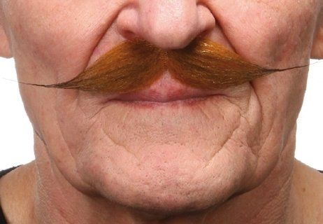 Mustache Fred Red