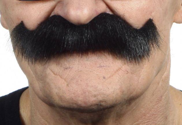 Mustache Luigi Black