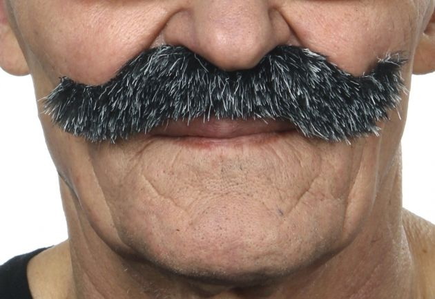 Mustache Luigi Dark Grey
