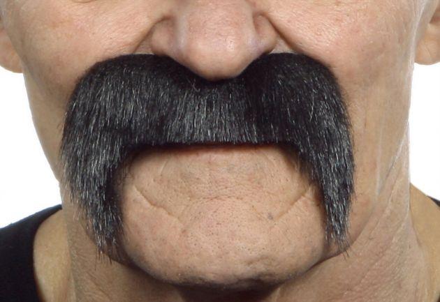 Mustache Pedro Black