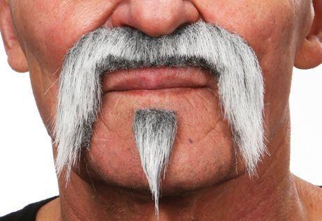 Mustache Harley Grey