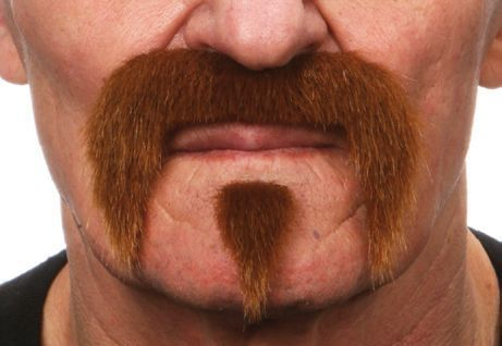 Mustache Harley Light Brown