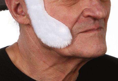 Sideburns Elvis White