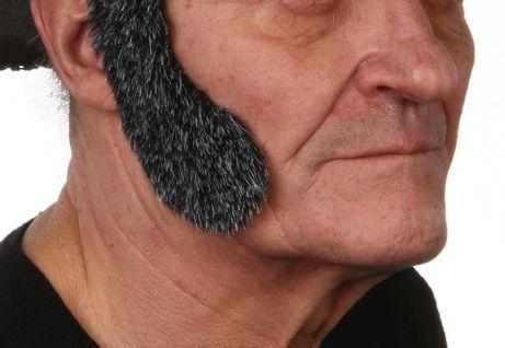 Sideburns Elvis Grey