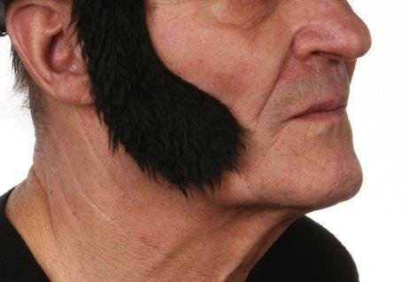 Sideburns Elvis Black