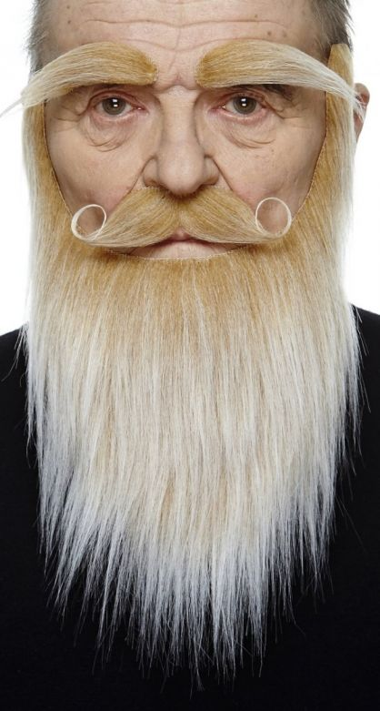 Beard Santa Blonde