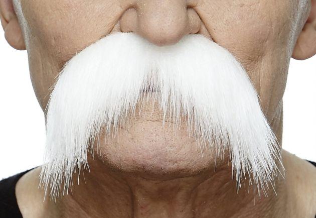 Mustache Wally White