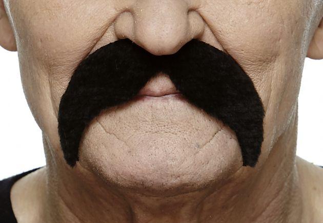 Mustache Wally Black