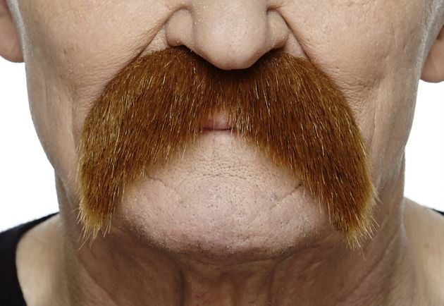 Mustache Wally Red