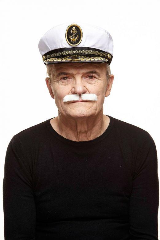 Mustache Dean White
