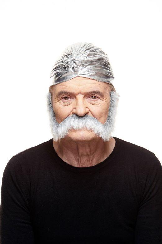 Mustache Nigel Grey