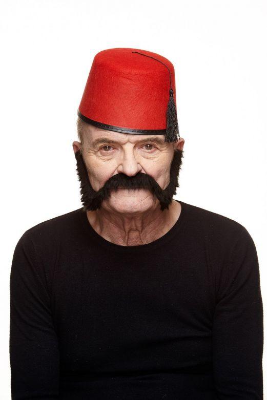 Mustache Nigel Black