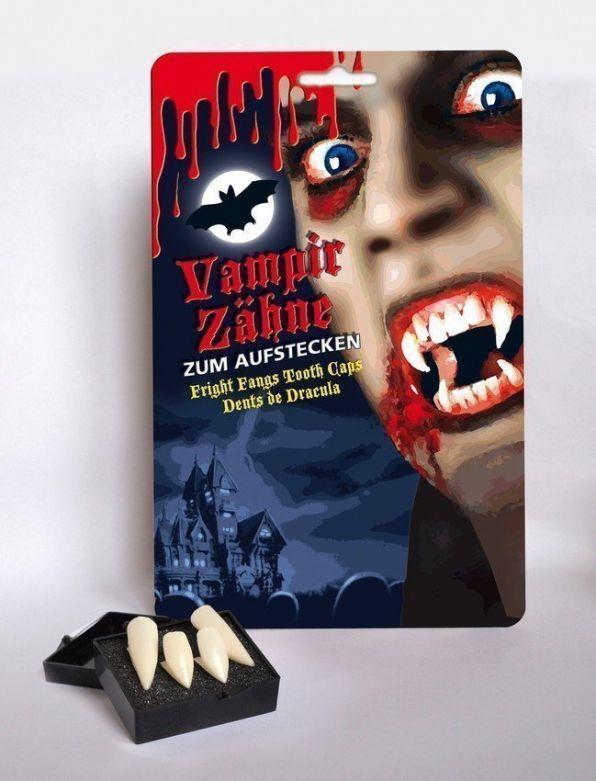 Vampire teeth 2 pair on card