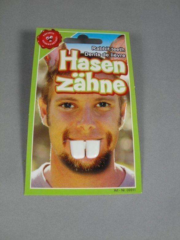 Buck Teeth on card