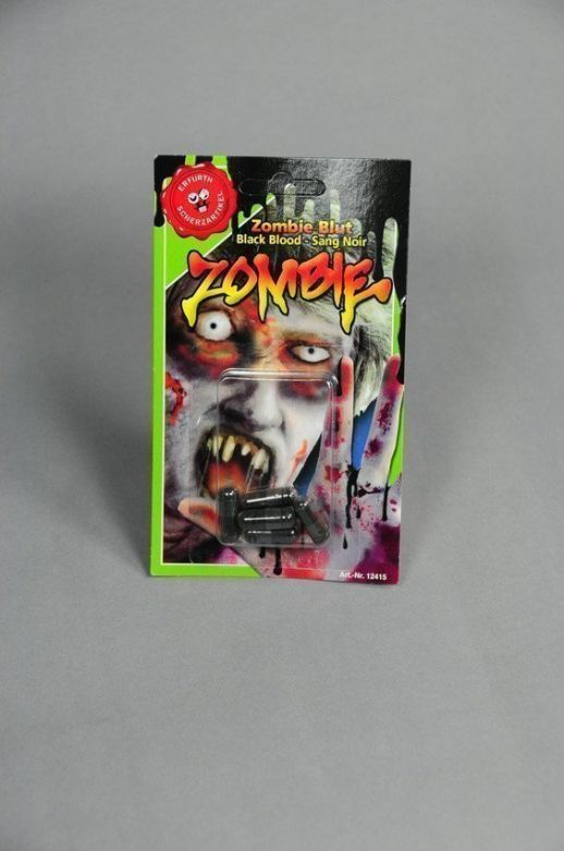 Zombieblood (black) 5 pieces on card