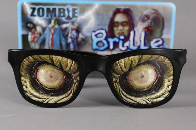 Zombie Glasses on card