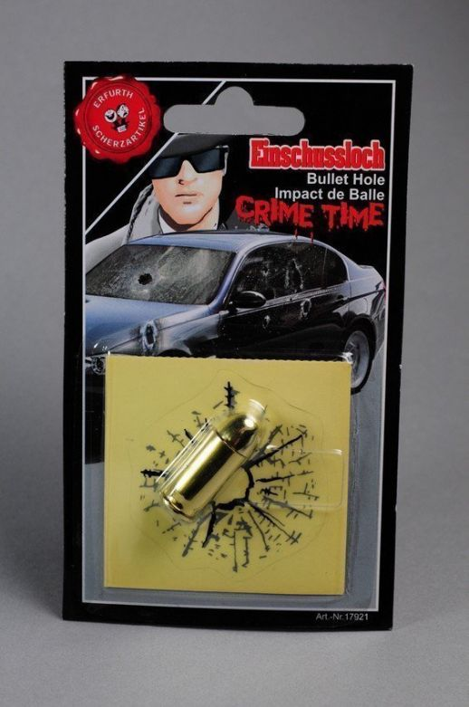Bullet hole + bullet