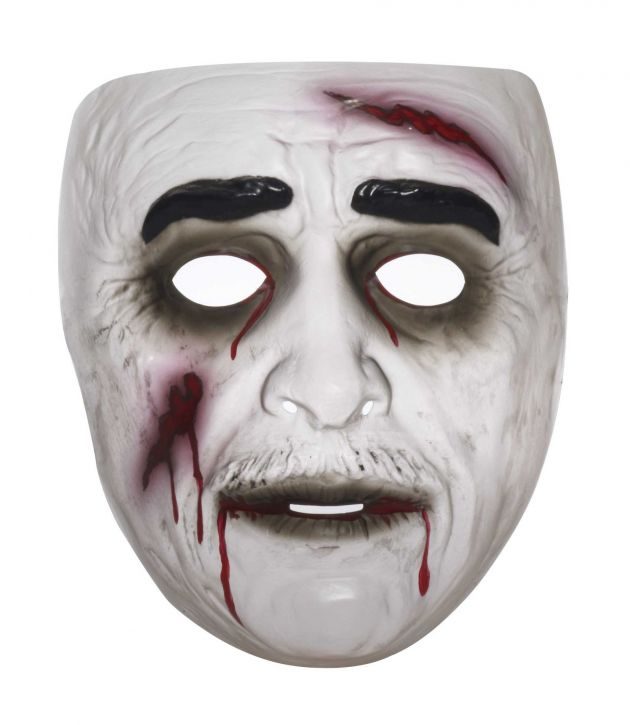 Zombie Mask male, realistic effect