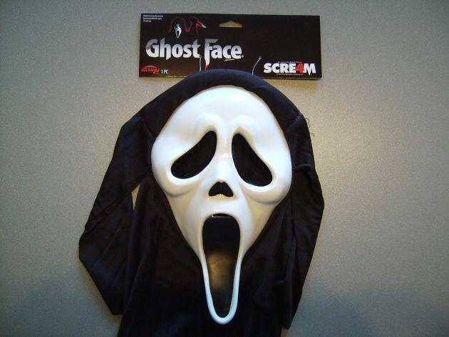 Scream Mask. Original SCREAM license item