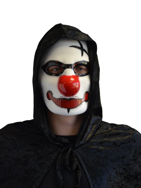Clown Mask 3 Pvc