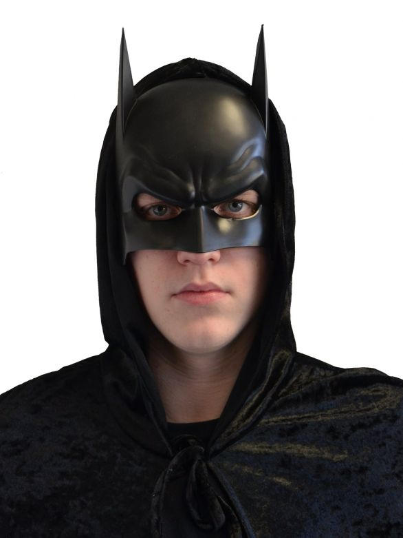 Bat Mask Black Pvc