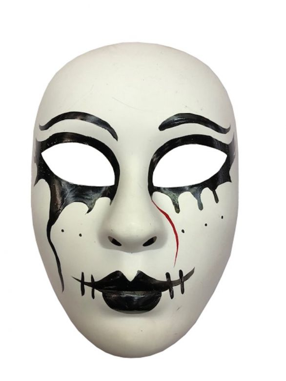 Mask Pierrot Pvc