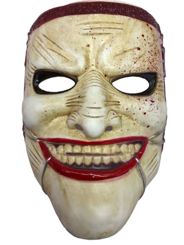 Mask Scary Johnny Pvc