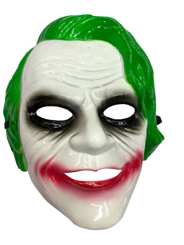 Joker Mask Green Pvc