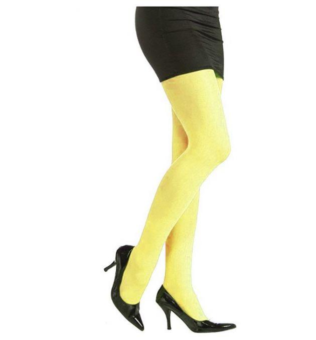 Tights Neon Yellow