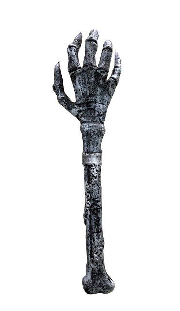 Skull Arm Grey - 60 cm Quality Foam