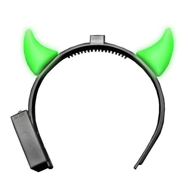 Devilhorns with Light Green incl Battery