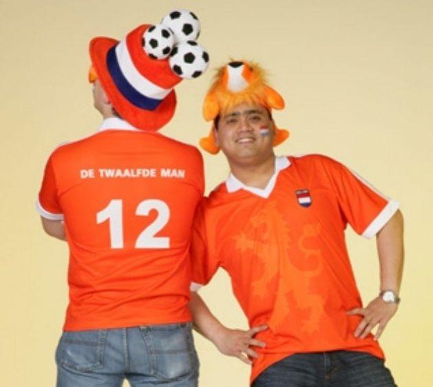 Oranjeshirt Twaalfde Man / 2XL
