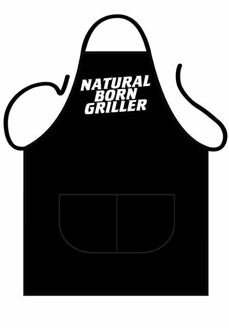 Black Apron Deluxe - Natural Born Griller