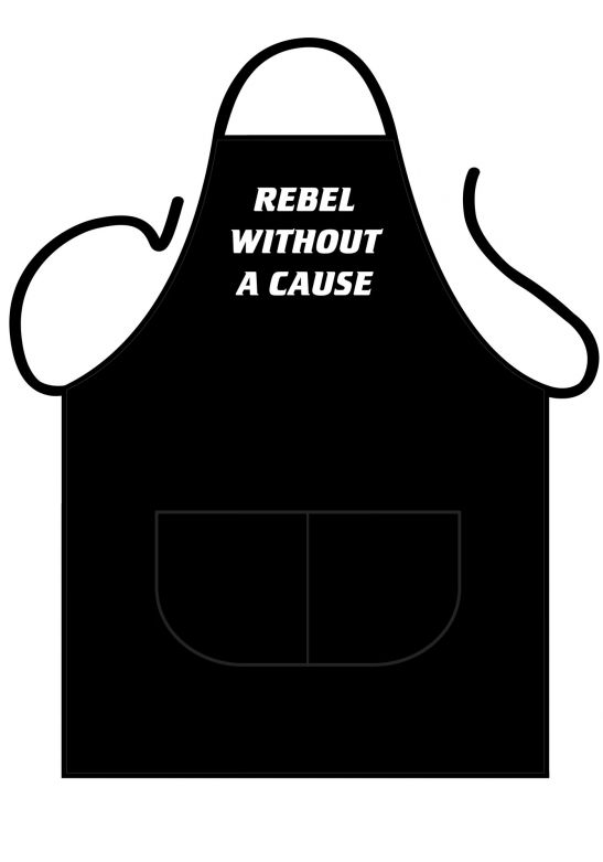 Black Apron Deluxe Rebel without a cause