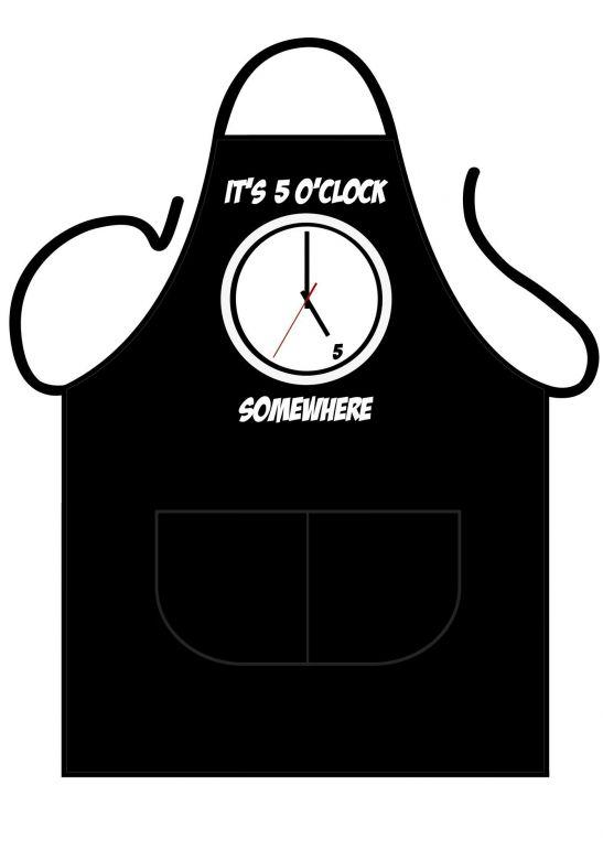 Black Apron Deluxe It's 5 o'clock somewhere