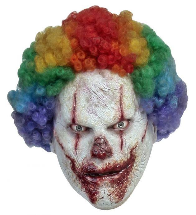 Volledig Hoofdmasker - CLOWN: Clown / One-size