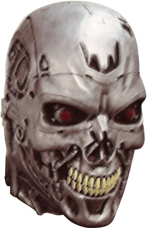 Volledig Hoofdmasker - Terminator 2: Endoskull / One-size